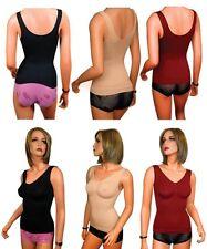 Markenlose Damen-Unterhemden für die Freizeit