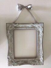 Vintage Ornate Plaster Frame Open Back Wall Decor Shabby Chic Antique