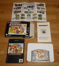 Original N64 Mario Party - Nintendo PAL Deutsch Top - mit OVP Box CIB