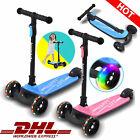Scooter Kinderroller Cityroller 3-Rad LED-Räder Roller Weihnachtsgeschenke DHL