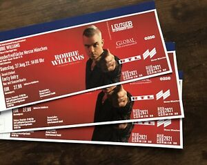Robbie Williams München Early entry Tickets