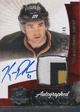 10-11 The Cup ROOKIE JERSEY AUTO xx/249 Made! Kyle PALMIERI #158 - Ducks