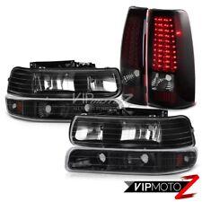 CHEVY SILVERADO 99-02 1500 2500 Bumper Headlights Smoke Red Brake Lamp Taillight