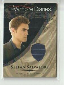 Vampire Diaries Love Sucks Season 1 Costume Card Paul Wesley Stefan Salvatore