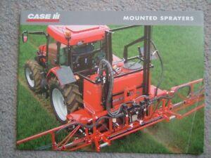 Case I.H. Mounted Sprayers Brochure. UK. 2002. Ex Cond. RARE