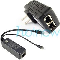 Gigabit Raspberry Pi 3B+ 3B Plus PoE Kit (Splitter + Injector) Micro USB 5V 2.4A