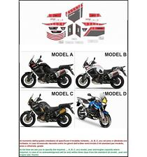 kit adesivi stickers compatibili XT1200Z SUPER TENERE WORLD CROSSER 2010 - 2013