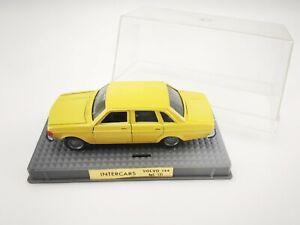 NACORAL INTERS CARS VOLVO 144 N°121 1/43 jaune SPAIN ESPAGNE