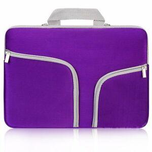 Notebook Sleeve Protector Bag Case For 11 13 14 15 Dell Lenovo HP Samsung Laptop