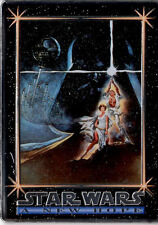 STAR WARS - A New Hope - Metallic Card   FREE SHIPPING..NEW PRICE