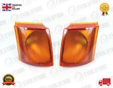 A PAIR OF FORD TRANSIT MK5-MK4 AMBER INDICATOR LIGHTS RIGHT / LEFT 1991-2000