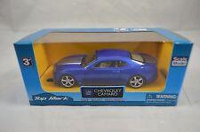 1:43 Scale GM Chevrolet Camaro in Metallic Blue- Top Mark Diecast Model (Age 3+)
