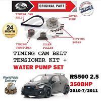 Per Ford Focus RS500 350 Bhp 2010-2011 Tendicinghia Cinghia Distribuzione &