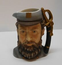 Stonewall Jackson Toby Mug or Pitcher Lefton China Hand Painted Vintage