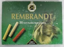Vintage Rembrandt Royal Talens Soft Pastels For Artists Flesh Colors 30 Pieces