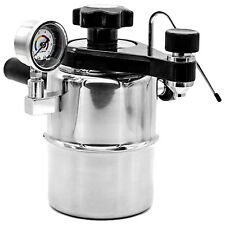 NEW Bellman CX25P Stainless Stovetop Espresso Coffee Maker and Steamer