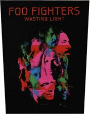 Foo Fighters Wasting Light Woven Sew On Battle Jacket Back Patch