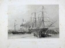 Napoleon Bonaparte St. Helena Exil Sarkophag Marine Navy Cherbourg Dampfschiff