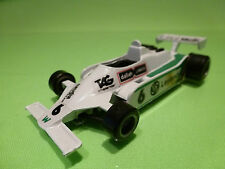 POLISTIL CE123 WILLIAMS FW07 - F1 1:41 - SAUDIA - RARE SELTEN - GOOD CONDITION