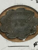 Token, Kimberly B.C. City Milk Dis. Flower Vintage Collectable Coin P10