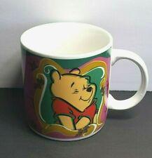 Disney 1998 12 Oz. Winnie the Pooh Cocoa Coffee Tea Beverage Mug Cup