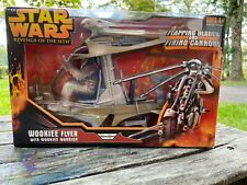 """Hasbro Star Wars Revenge of the Sith Wookiee Flyer 3.75"""" Not Chewbacca"""