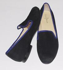 COLE HAAN~NIKE AIR~BLACK~SOFT SUEDE *MORGAN~BALLET FLAT SHOES~DRESS LOAFERS~7.5