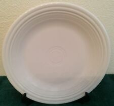 White DINNER PLATE ~ Contemporary FIESTA