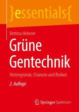 Grüne Gentechnik|Bettina Heberer|Broschiertes Buch|Deutsch