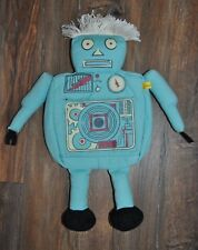 Joules Robert The Robot Blue Fabric (wash) Bag Toys Holder