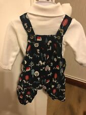 Boys//Girls Baby Toddler Train Birds Retro Corduroy Dungarees Trousers 6 Months