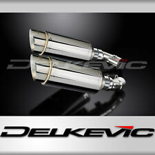 DUCATI MONSTER 696 2008-2014 200mm ROUND STAINLESS SILENCER EXHAUST KIT
