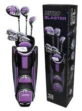New listing Golf Club Set For Ladies 13 Piece Right Handed Nitro Titanium Complete Clubs Bag