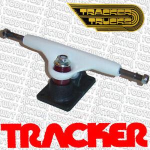 "TRACKER Skateboard Trucks 9.0"" - Original '80s 50-50 SIX TRACKS"