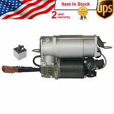 Air Suspension Compressor Pump +Relay for AUDI A6, C6 - 4F0616005E, 4F0616005F