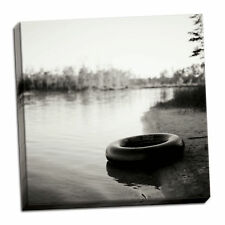 Millwood Pines 'Lonely Innertube' Photographic Print on Wrapped Canvas