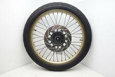 Yamaha XT600 43F Vorderrad Felge Bremsscheibe Reifen