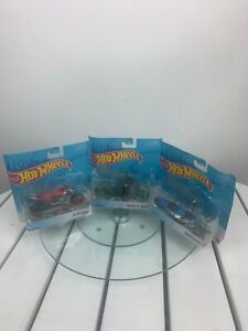 HOT WHEELS MOTORCYCLE ferenzo-twin flame-x blade  lot of 3