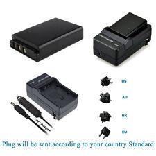 3.7V battery for Sanyo Xacti DMX-HD1010, Xacti VPC-FH1 Xacti VPC-HD1010 +Charger