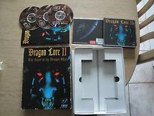 DRAGON LORE II 2 THE HEART OF THE DRAGON MAN PC cd rom big box