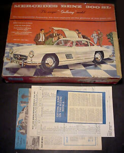 Renwal 1/12 Scale Mercedes Benz 300 SL Gullwing 100% Complete!
