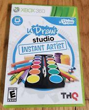 UDraw Studio Instant Artist Microsoft Xbox 360
