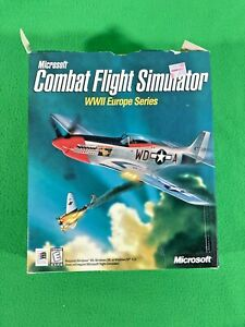 Combat Flight Simulator: WWII Europe Series - Microsoft - PC CD - 1998 - Big Box