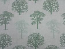 MARSON TREES GREEN DESIGNER CURTAINS BLINDS CRAFT UPHOLSTERY FABRIC