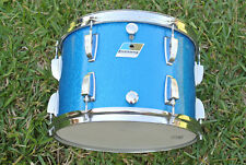 "1970's LUDWIG 13"" CLASSIC SERIES TOM in BLUE SPARKLE for your DRUM SET! LOT E907"