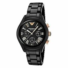 Emporio Armani Quartz (Battery) Ceramic Band Wristwatches