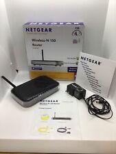 Netgear N150 Wireless Router WNR1000 V2 4-Port with Power Cord & Original Box