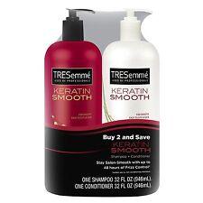 TRESemme Keratin Smooth Shampoo & Conditioner 32 fl oz 2 Pack - Brand New Item