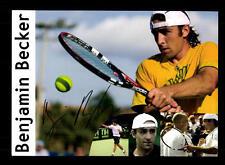 Benjamin Becker Autogrammkarte Original Signiert Tennis + A 157098