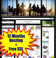 Ready Made Amazon Affiliate Business Opportunity Store or Any Niche Hosting SSL